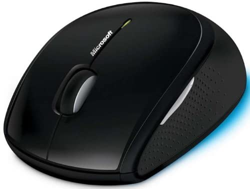 Tested, it works very well Microsoft Wireless Laser Mouse 5000 W// Receiver