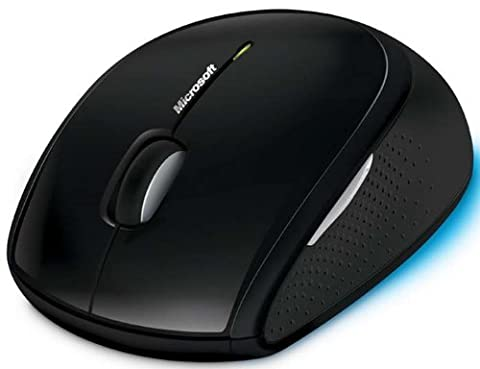 Microsoft Wireless Mouse 5000 (Mouse Wireless Microsoft Blue)
