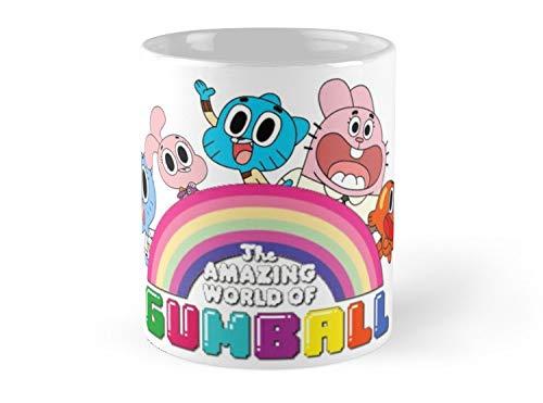Gumball'S World Mug - 11oz Mug - Made from Ceramic - Best gift for family friends ()