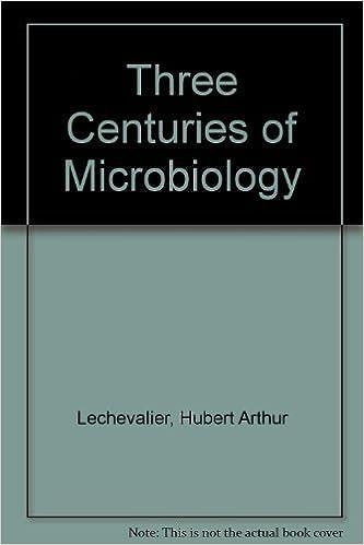 Three Centuries of Microbiology by Hubert Lechevalier (1974-11-18)