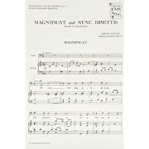 Magnificat and Nunc Dimittis from the Fourth Service: Vocal score (Church Music Society publications)