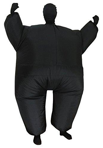 Green Man Factory Child Inflatable Body Suit - Medium, Black (Halloween Suits Men)