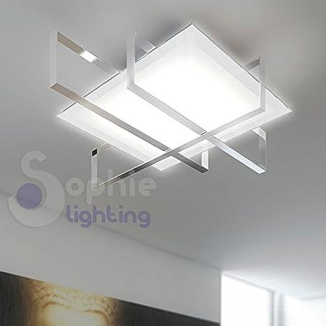 Techo lámpara de Techo Moderna diseño Minimal Cristal ...