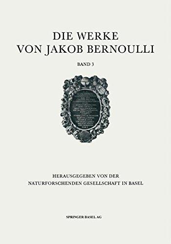 Die Werke von Jakob Bernoulli: Bd. 3: Wahrscheinlichkeitsrechnung Gebundenes Buch – 1. Januar 1975 B.L. van der Waerden Birkhäuser 3764307137 History & Philosophy