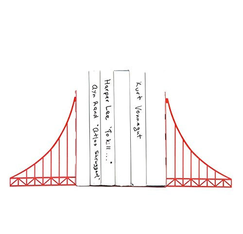Decorative Bookends // Golden Gate Bridge // Cool Home Decor Gift for A San Francisco Housewarming Party // Christmas gift // Free Shipping Worldwide