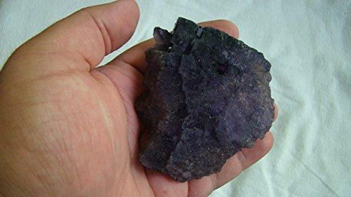 Ham4412 Dark Purple Fluorite Multi Crystals Large Cluster (Multi Fluorite Crystal)