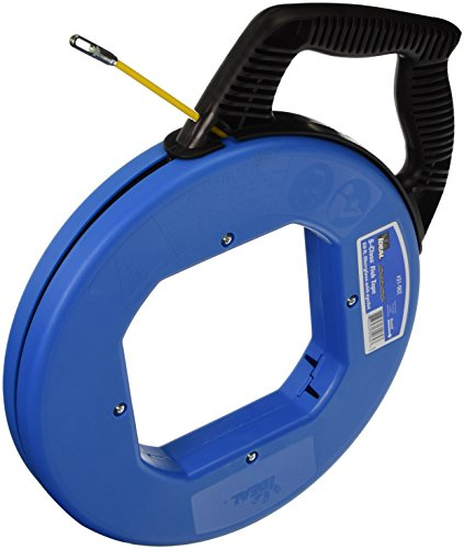 Ideal 31-062 50-Feet Tuff-Grip S-Class Fiberglass Fish Tape with Eyelet by Ideal