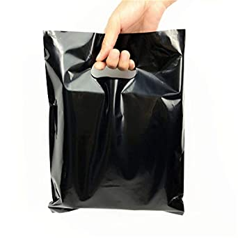 Amazon.com: SES.CO, bolsas de plástico color negro ...