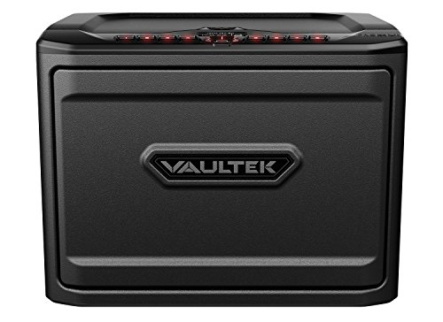 Vaultek PRO MXi High Capacity Biometric Handgun Safe Multiple Pistol Storage Bluetooth Smart Safe (Black)