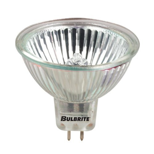 Wide Spot Bulbrite EXT//10M 50-Watt 12-Volt Halogen MR16 Long Life Lensed Bi-Pin