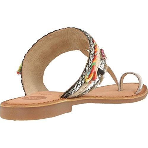 Sandalias y chanclas para mujer, color Plateado , marca GIOSEPPO, modelo Sandalias Y Chanclas Para Mujer GIOSEPPO 40528G Plateado Plateado
