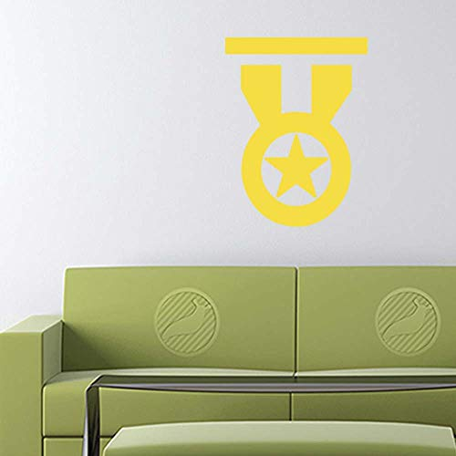 Medal of Honor Decal Sticker (Yellow, 15 inch) for Indoor Wall Home b11761
