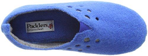 Padders Riva, Zapatillas de Estar por Casa para Mujer Azul (29 Denim Blue)