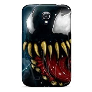 Galaxy Covers Cases - Spiderman Black 3d Protective Cases Compatibel With Galaxy S4
