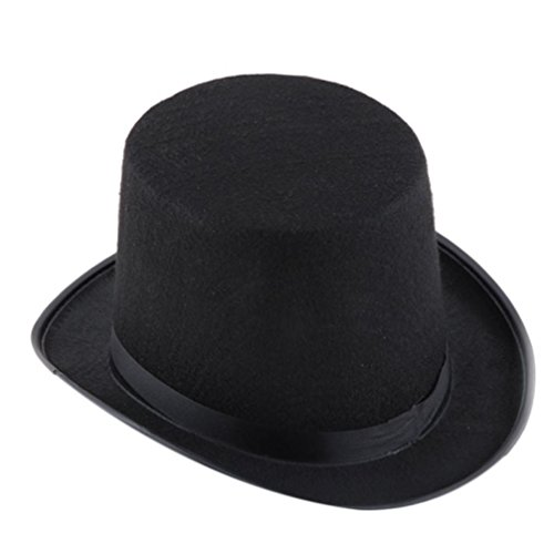 [Halloween Magician Hat , Malltop Entertainment Black Magic Jazz Party Hat] (Letter W Halloween Costumes)