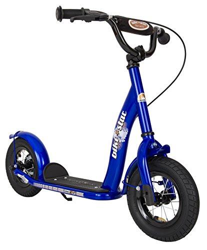 BIKESTAR® Premium Lieblingsspielzeug Kinderroller für sichere und sorgenfreie Spielfreude ab 5 Jahren ★ 10er Classic Modell ★ Abenteuerlich Blau