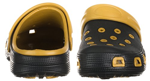 Clog Women's brandsseller Black brandsseller Clog Women's Gold Black fHX6qxwWv