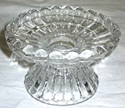 New Universal Fluted Glass candle holder