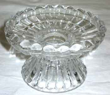 Fluted Pillar Candle (Universal Fluted Glass Candle Holder)