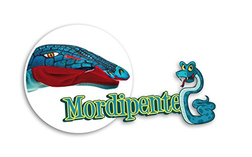 MORDIPENTE - Gants Jeu avec Serpent Design