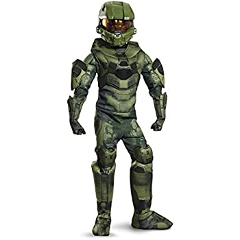Costume Accessory fnt Child size Halo Master Chief Deluxe Boot Covers