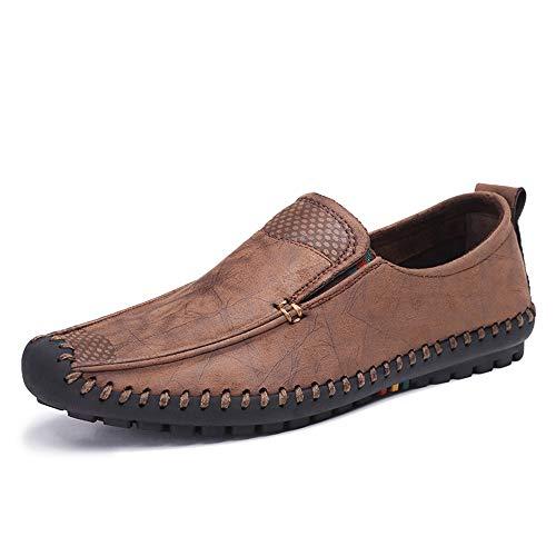 Driving Old Espadrillas Colore Dimensione Soft Casual confortevoli Shoes Qiusa Cloth Marrone Mens Beijing Sole Marrone EU 40 xYSqB5wH