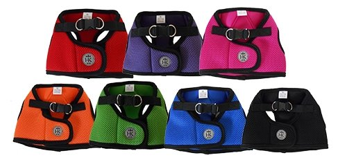 Purple Large Purple Large Huxley & Kent Hudson Mesh Step in Large Dog Harnesses (Purple, Large)