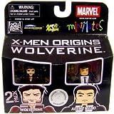 Marvel Minimates Exclusive X-Men Origins Wolverine 2 Pack Origins Wolverine and Agent Zero by Diamond Select