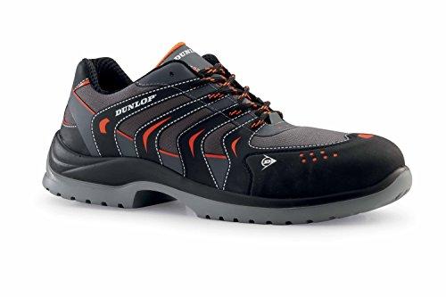 Dunlop Sport Racer - Chaussures de sécurité S1P SRC couleur : noir