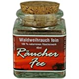 40ml Wald Weihrauch fein (Burgundisches Pechharz, Burgunderharz, Fichtenharz) zum Räuchern - Räucherwerk - im Korkenglas