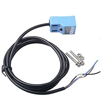 ctyrzch npn no 3 wire 4mm inductive proximity sensor switch dc 10 rh amazon com