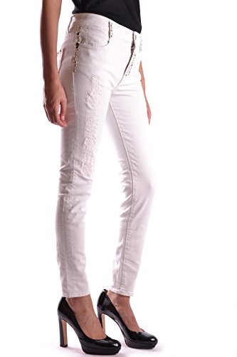 Jeans Mcbi300001 Turquoise Cotone Donna Bianco BRAdxpH