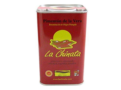 La Chinata Pimenton de la Vera Agridulce DOP (Bittersweet Smoked Spanish Paprika Powder) Food Service Size by La Chinata
