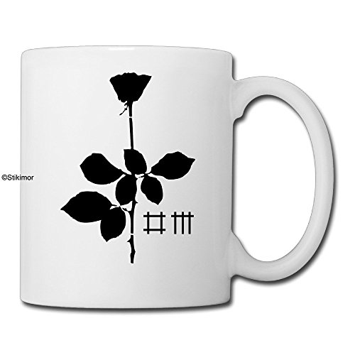 Depeche Mode Rock Band Violator Albums Funny Coffee Mug Cups by Stikimor