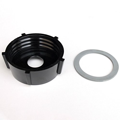 Bottom Jar Base Cap & Gasket Seal Ring Replacement Part For Oster Blender, 4902