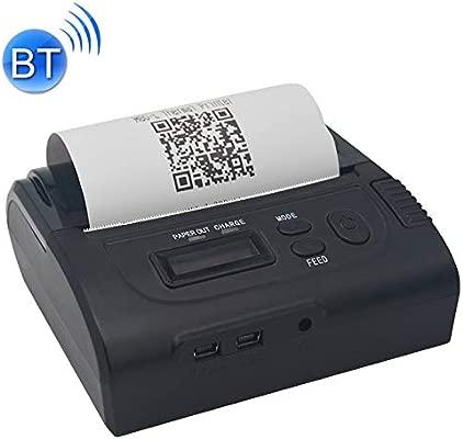 GzPuluz Impresora de Recibos térmica portátil Bluetooth POS-8002LD ...