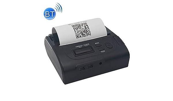 Impresora portátil Impresora, POS-8002LD portátil térmica ...