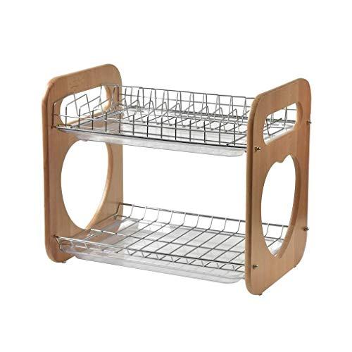 Draining Rack Kitchen Dish Tableware Rack Stainless Steel Drain Utensils ()