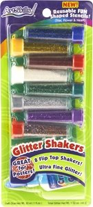 Artskills Glitter Shakers 8CT (Pack of 6)