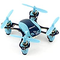 UDI U840 Mini 2.4G 6-Channel Nano RC Quadcopter with Extra Battery - Blue