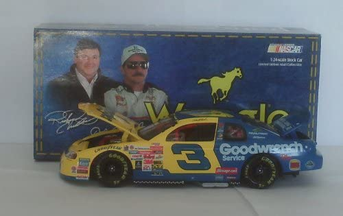 Dale Earnhardt Sr #3 Wrangler Jeans Monte Carlo 1999 Charlotte All Star Race Paint Scheme 1//24 Scale Hood Trunk Open Action Racing Collectibles