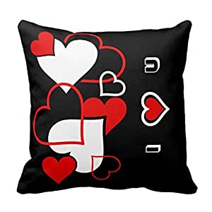 I Love You Always in All Ways Typography Pillows Case 16x16