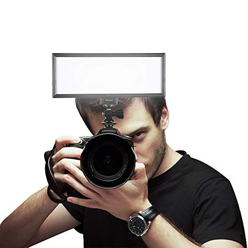 SUPON LED-L132T RA CRI95 Super Slim LCD Display Lighting Panel,PortableDimmable3300K-5600K LED Video Light For Canon,Nikon,Pentax,Panasonic,Sony,Olympus Cameras&DV Camcorder,Shooting(Only LED-L132