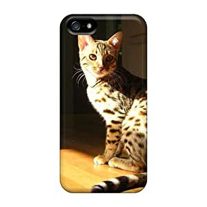 BrownCases Case Cover For Iphone 5/5s - Retailer Packaging Shadow Of The Day Protective Case