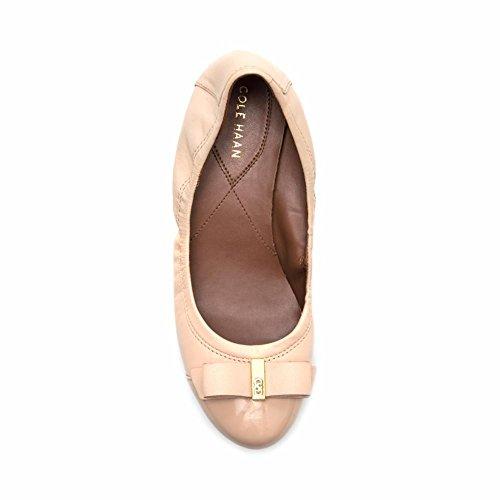 Flat Ballet Embossed Leather Patent Suede Cole Elsie nude Nude Haan Fig Women's II qUxzUFXwZI