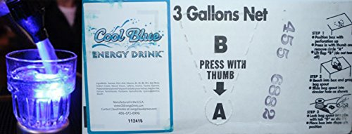 Cool Blue Energy Drink 3 Gallon Bag in Box by Cool Blue