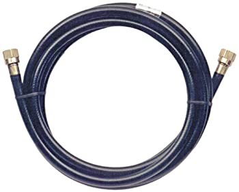 Trident Marine 1014-3838-300 L.P. Gas Supply Line Hose, 25', Brass Fittings
