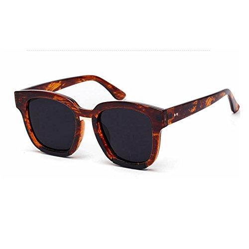 de Sunglasses Colore gafas Mujer Gafas sol sobredimensionado hembra sol negro de UV400 para rojo gafas TL la giallo de Retro sol de EBcdq6EWn