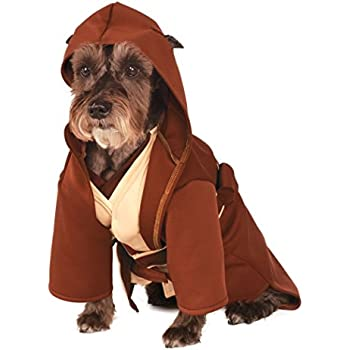 Rubieu0027s Star Wars Classic Jedi Robe Pet Costume Large  sc 1 st  Amazon.com & Amazon.com : Rubieu0027s Costume Star Wars Collection Pet Costume Large ...
