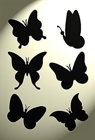 Amazon.de: Schablone Schmetterling, Shabby Chic, rustikaler Vintage ...
